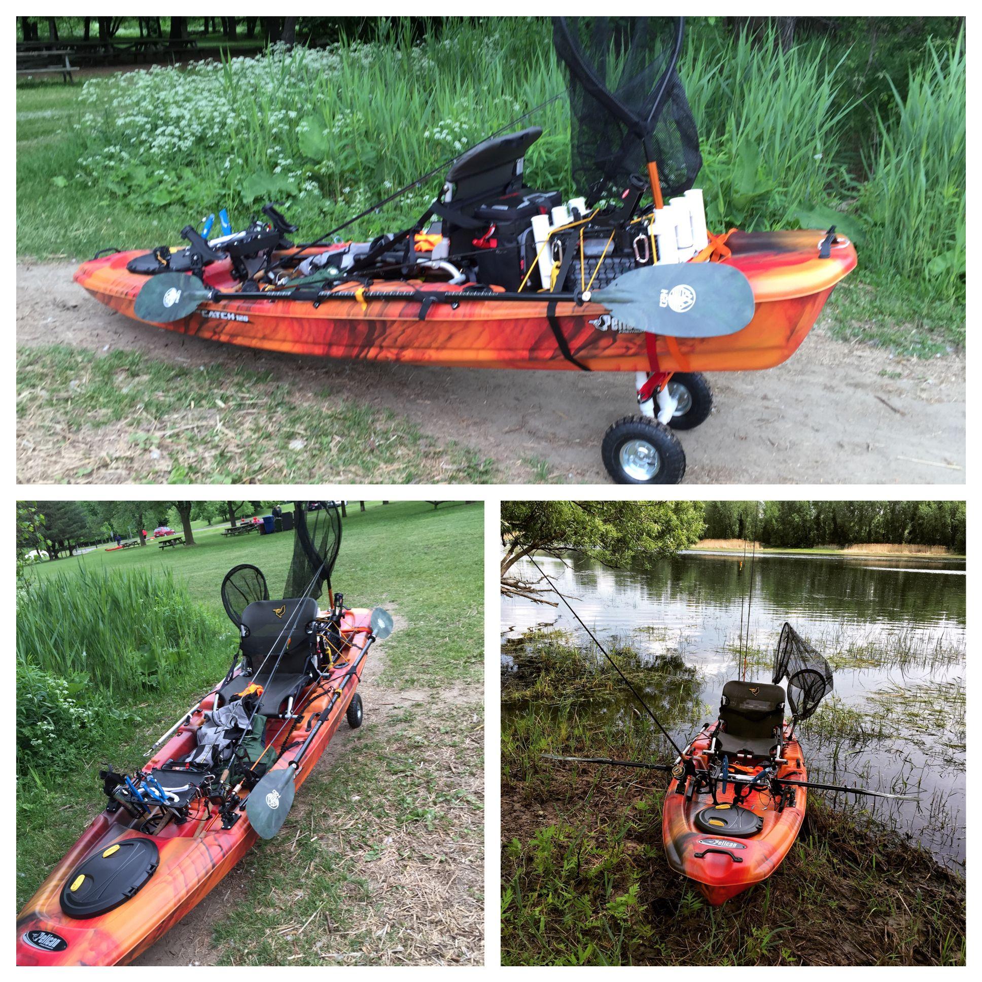 Kayak Pelican Catch 120 Modifies Angler Kayak Kayaking Gear Kayak Fishing Setup