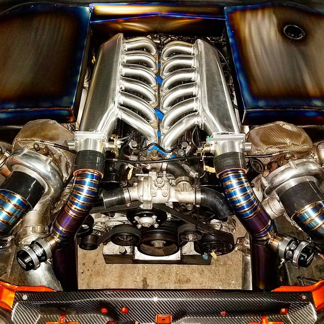 twin-turbo 1gz-fe v12 in a toyota supra | engines | pinterest