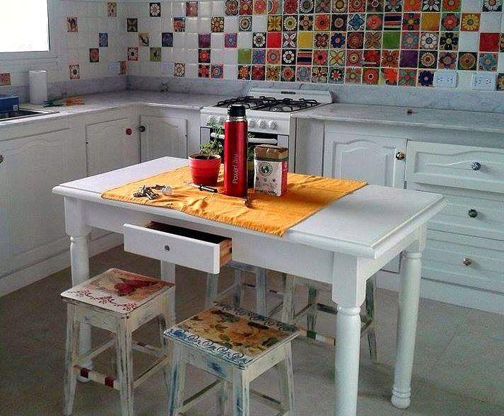 Esta cocina creo que se hizo en 24 meses mas o menos, primero compró ...