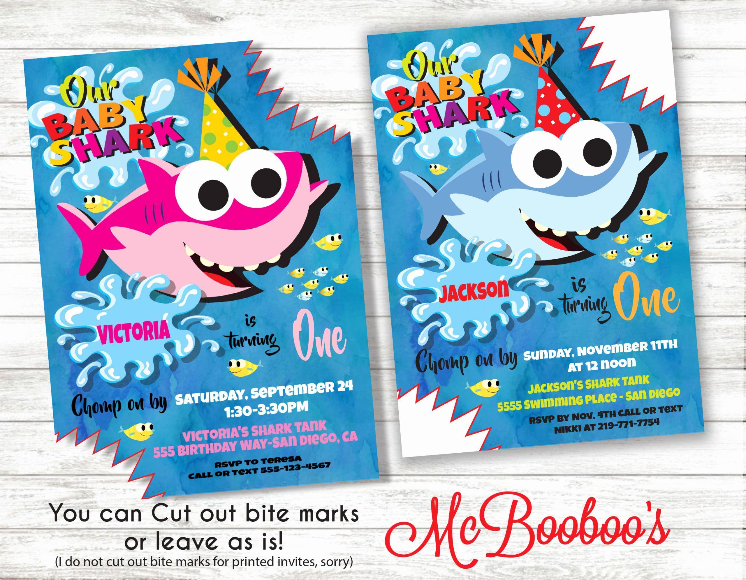 Shark Birthday Party Invitations Lovely Baby Shark Song Birthday Party Invitati Shark Birthday Party Invitation Shark Birthday Party Shark Birthday Invitations