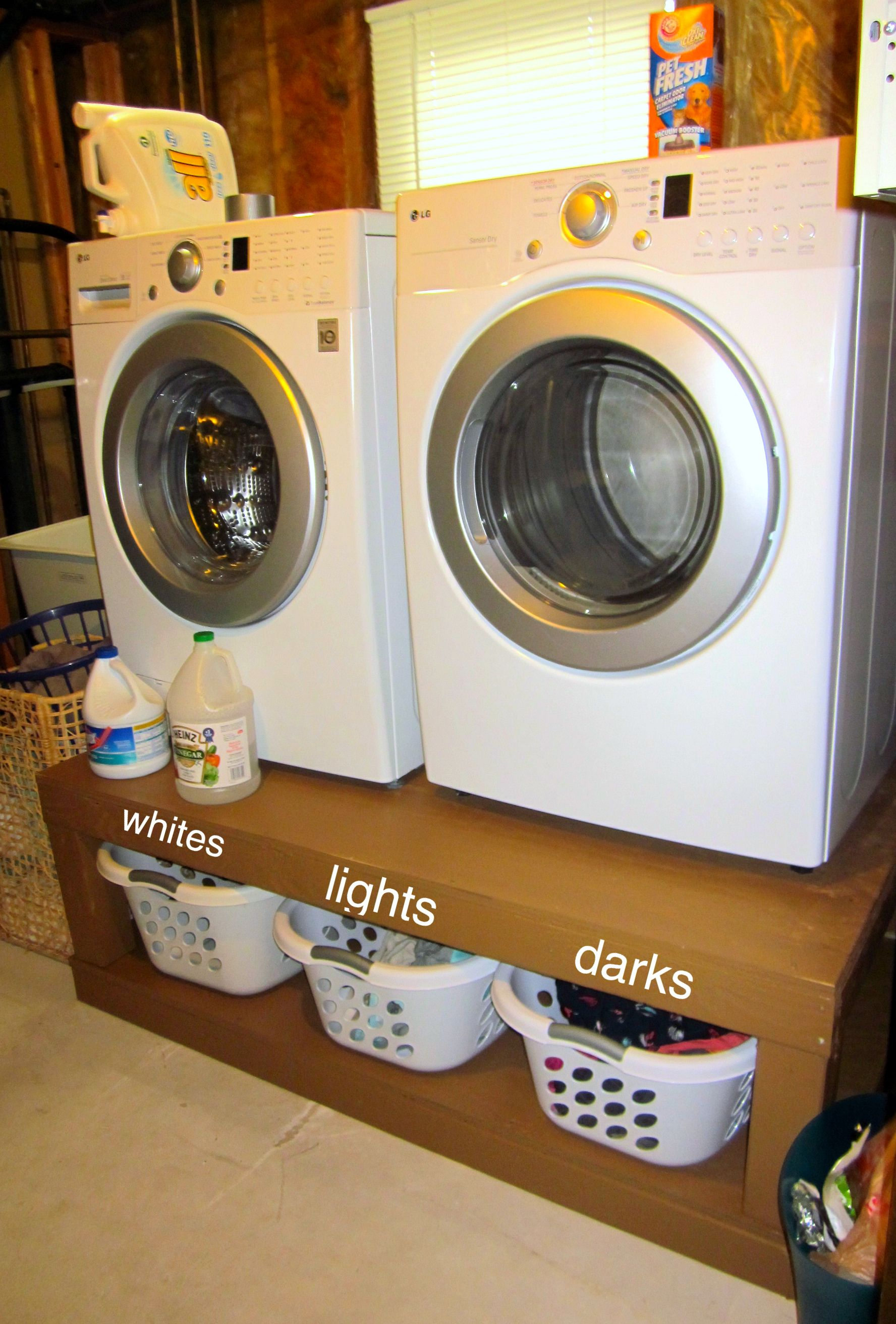 and diy projects best white ana dryer build new a how pedestals laundry of to com pedestal washer