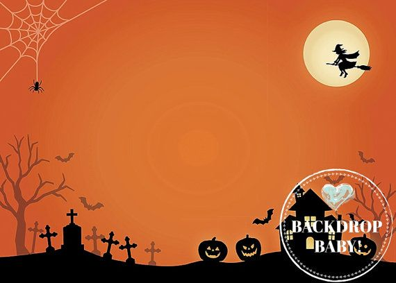Halloween Graveyard Backdrop, Photography Backdrop  Floordrop - halloween backdrop