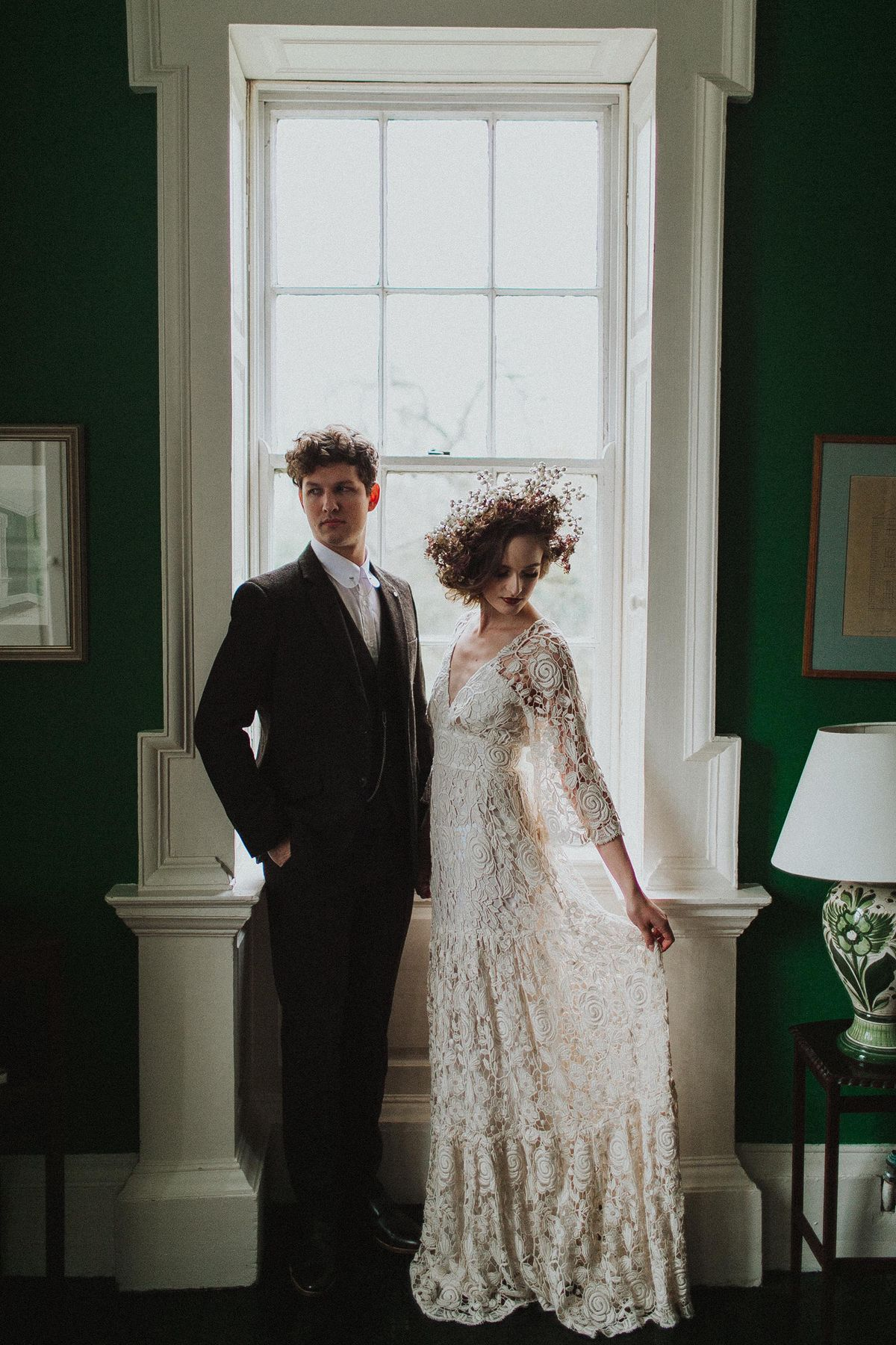 A Romantic Organic and Ethereal Autumn Inspired Wedding Editorial