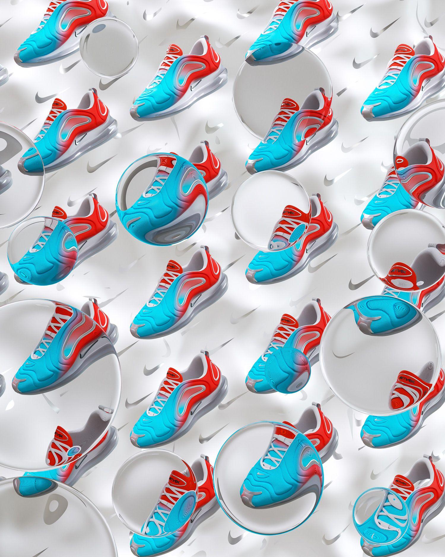 Nike X JD Air Max 720 on Behance | C4D in 2019 | Air max
