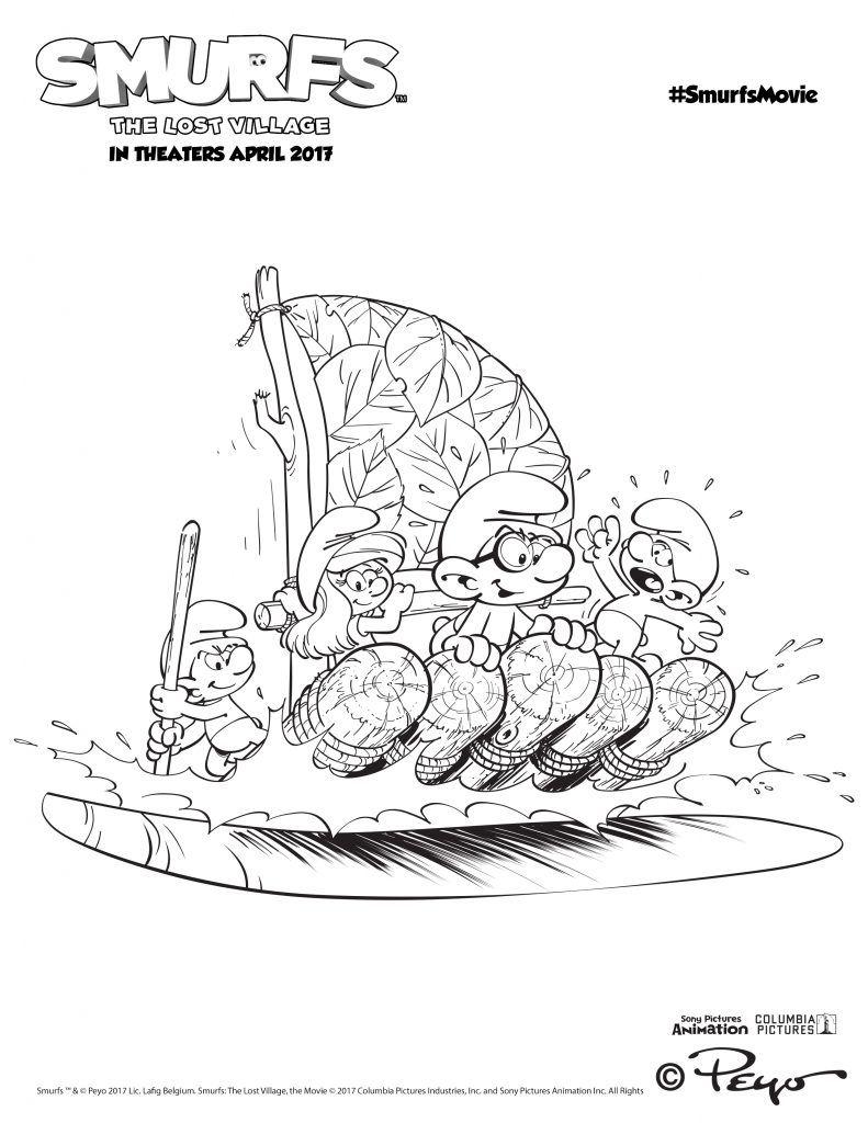 Smurfs activities over 15 smurfs activity pages smurfsmovie