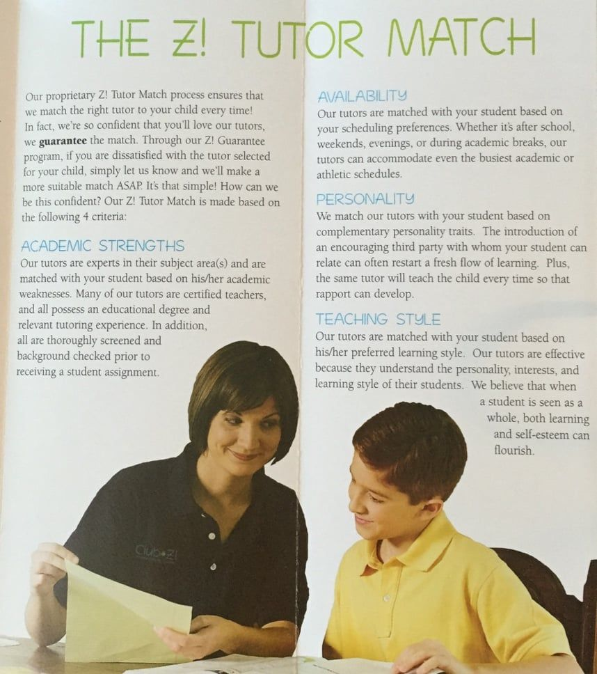 Photo of Club Z! InHome Tutoring Services Metairie, LA