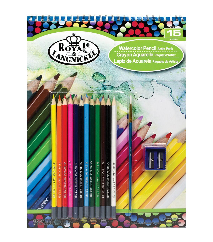 Royal Langnickel Watercolor Pencil Artist Pack | Watercolor pencils ...
