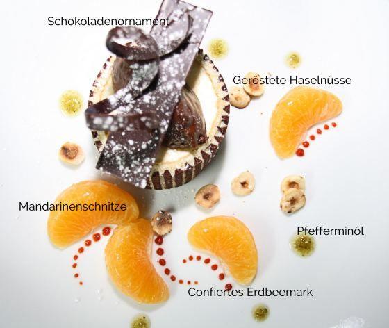 Bayerische Crème – im Biskuitmantel