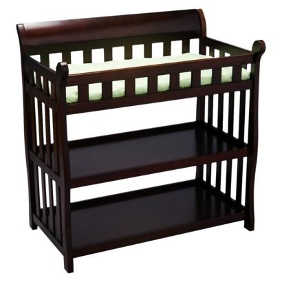 Delta Childrenu0027s Products Eclipse 2 Shelf Baby Changing Table   Black  Cherry At Target Http