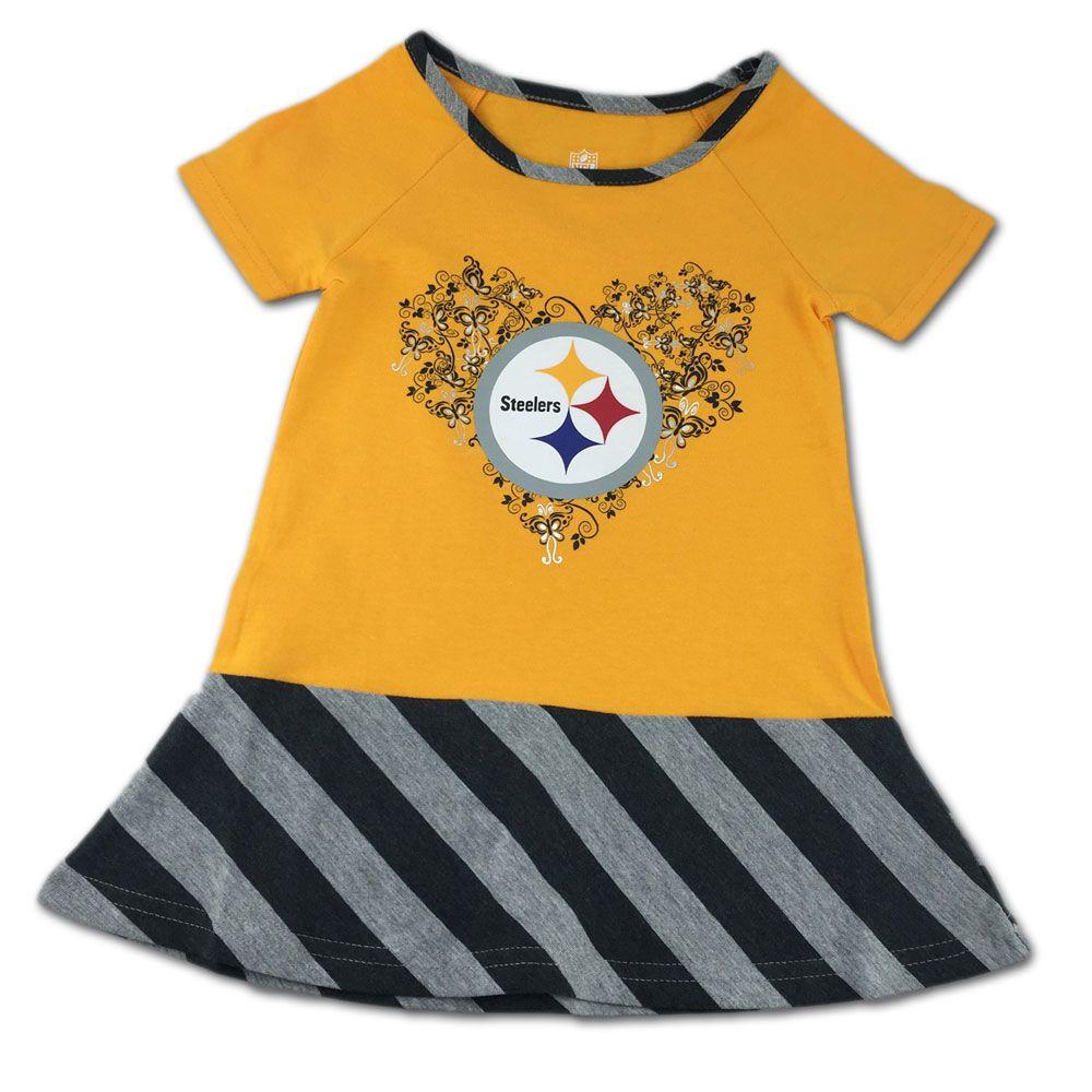69bd93075 Steelers   Butterflies Dress