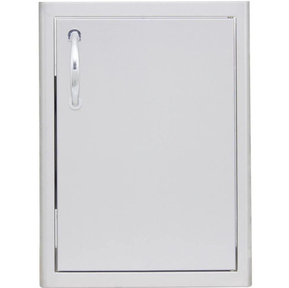 Blaze 21 Inch Stainless Steel Single Access Door Vertical Blz Single 2417 R Bbqguys Outdoor Kitchen Outdoor Kitchen Design Outdoor Kitchen Appliances