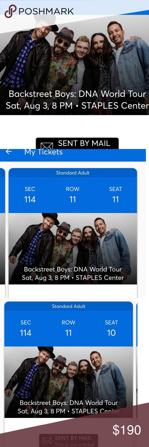 backstreet boy tickets backstreet boys will be here August