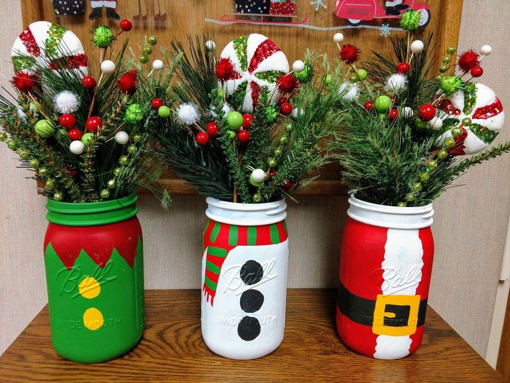 My Christmas Mason Jar Collection Mason Jar Christmas Crafts Christmas Crafts Diy Christmas Jars