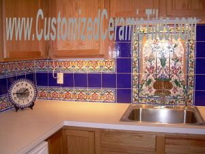 decorative wall tiles for kitchens | accent flooring tiles ...