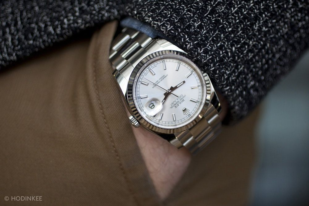 A Week On The Wrist: The Rolex Datejust - HODINKEE #rolexdatejust