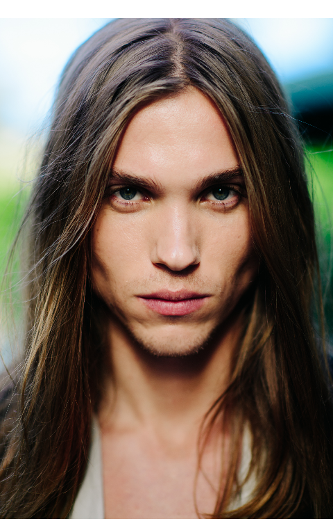 Man Hair Men S Hairstyles Models Longer Portrait Long Guys Book Haired Wells