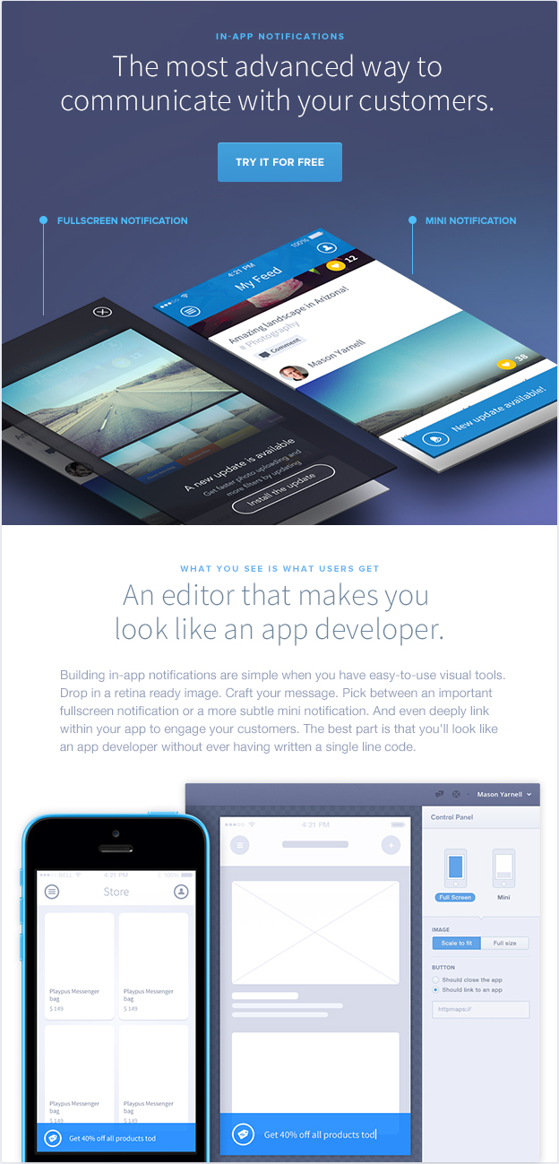 Really nice layout downside itus just one big image email uxui