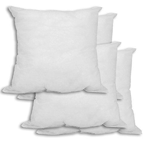 26X26 Pillow Insert Mybecca 4 Pack 26 X 26 Premium Hypoallergenic Stuffer Pillow Insert