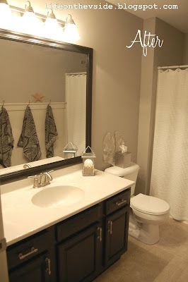 Want To Do This To My Bathroom Mirror If I Can Get The Old Frame - Simple bathroom makeovers