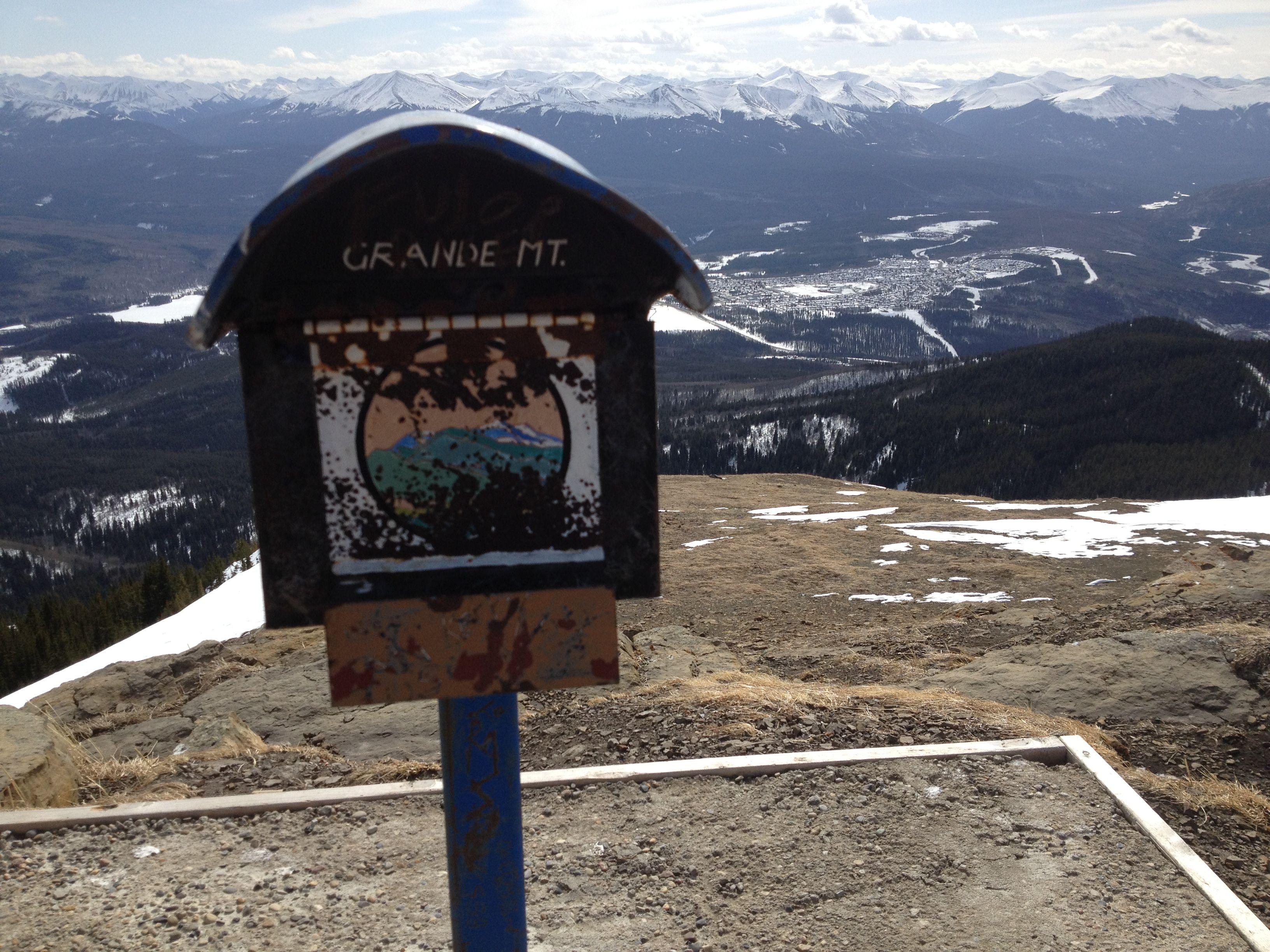 Grande Mountain, Grande Cache, Alberta, Canada