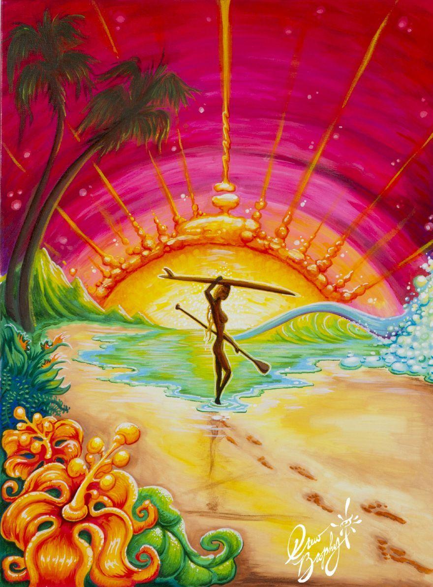 Surf Art - Drew Brophy - Surf Lifestyle Artist | Art Inspiration ...