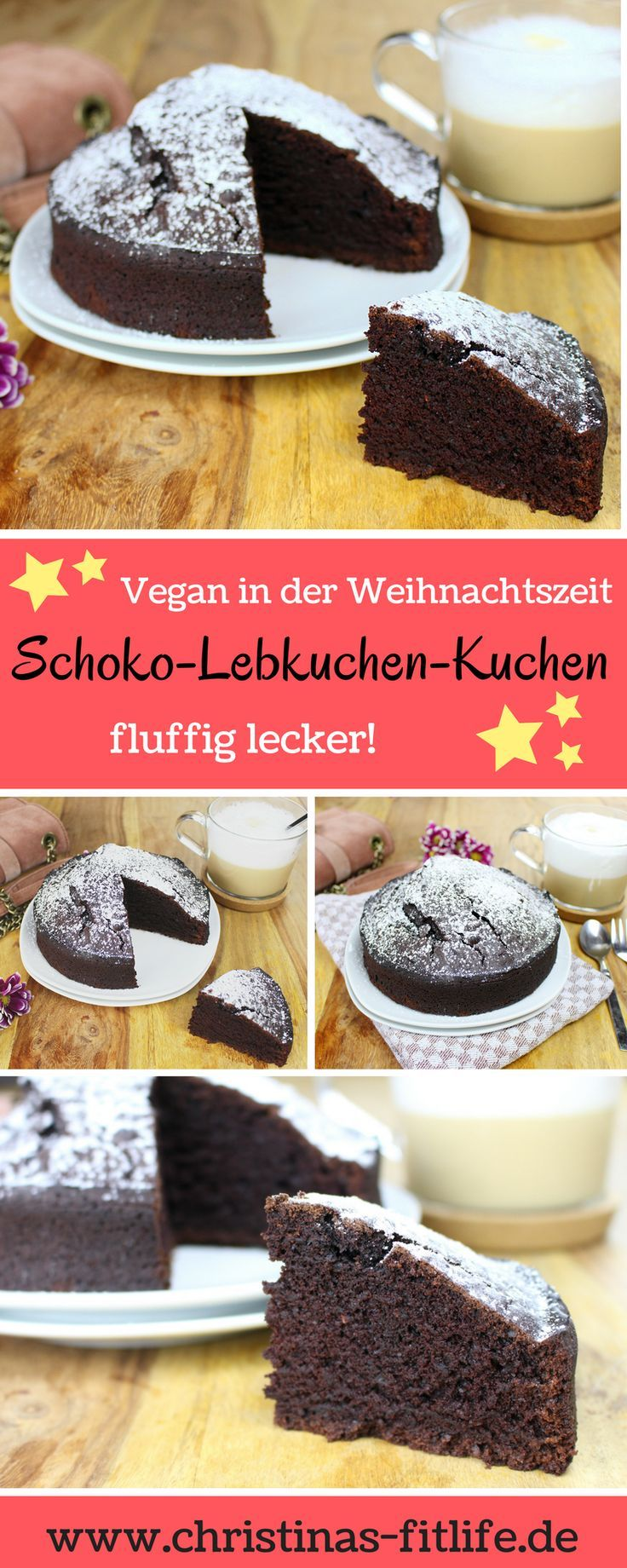 veganer schoko lebkuchen kuchen christinas fitlife in. Black Bedroom Furniture Sets. Home Design Ideas
