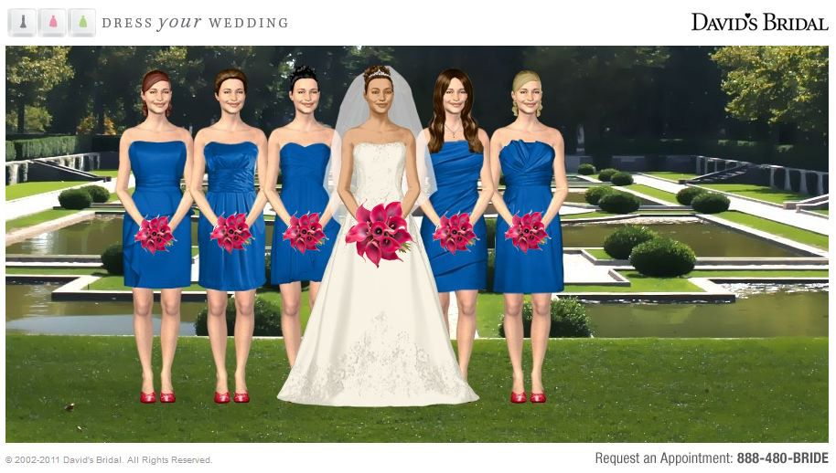 Royal Blue Sapphire Bridesmaids Dresses Horizon At David S