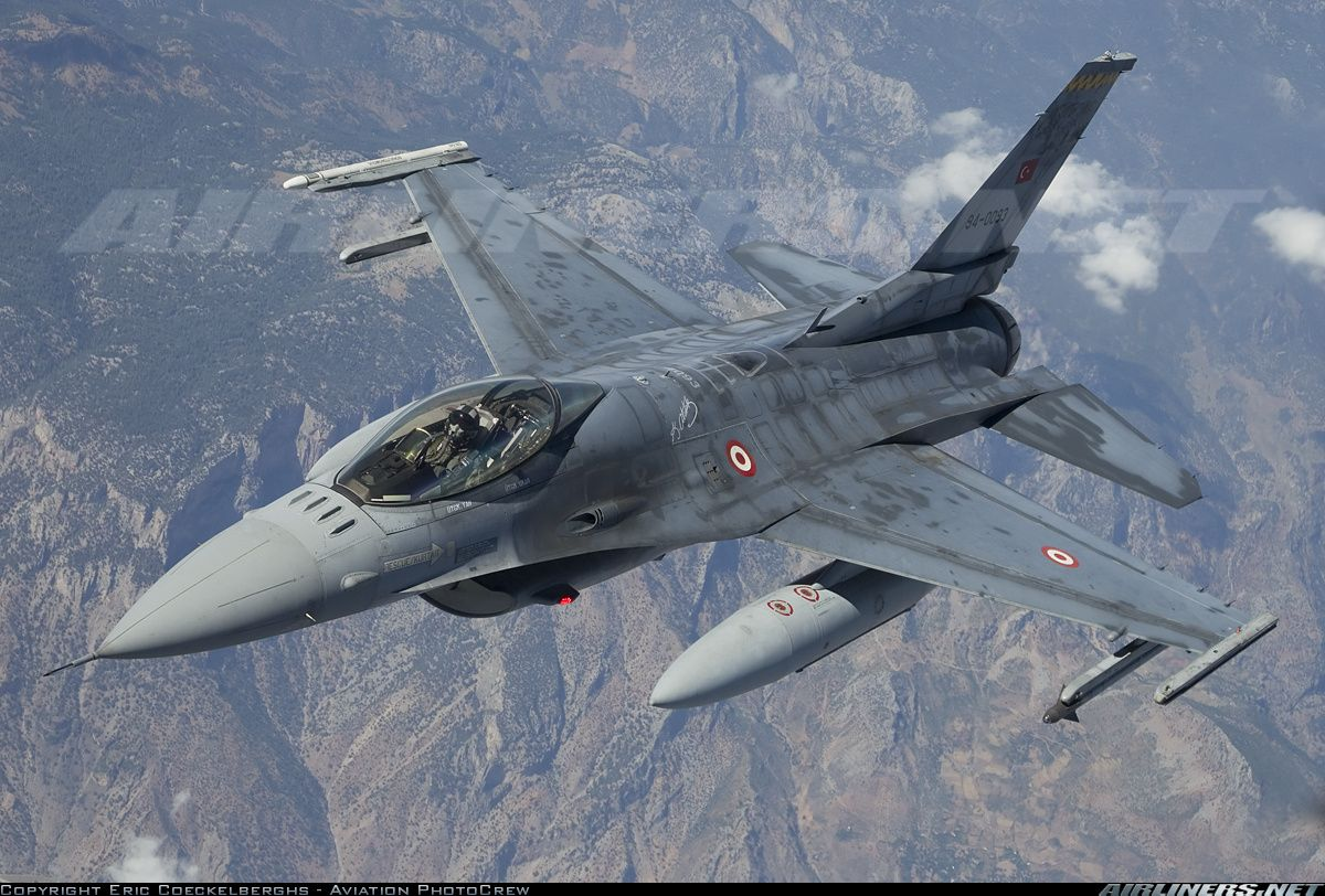 F-16 Fighting Falcon at Anatolian Eagle 2013 exercise