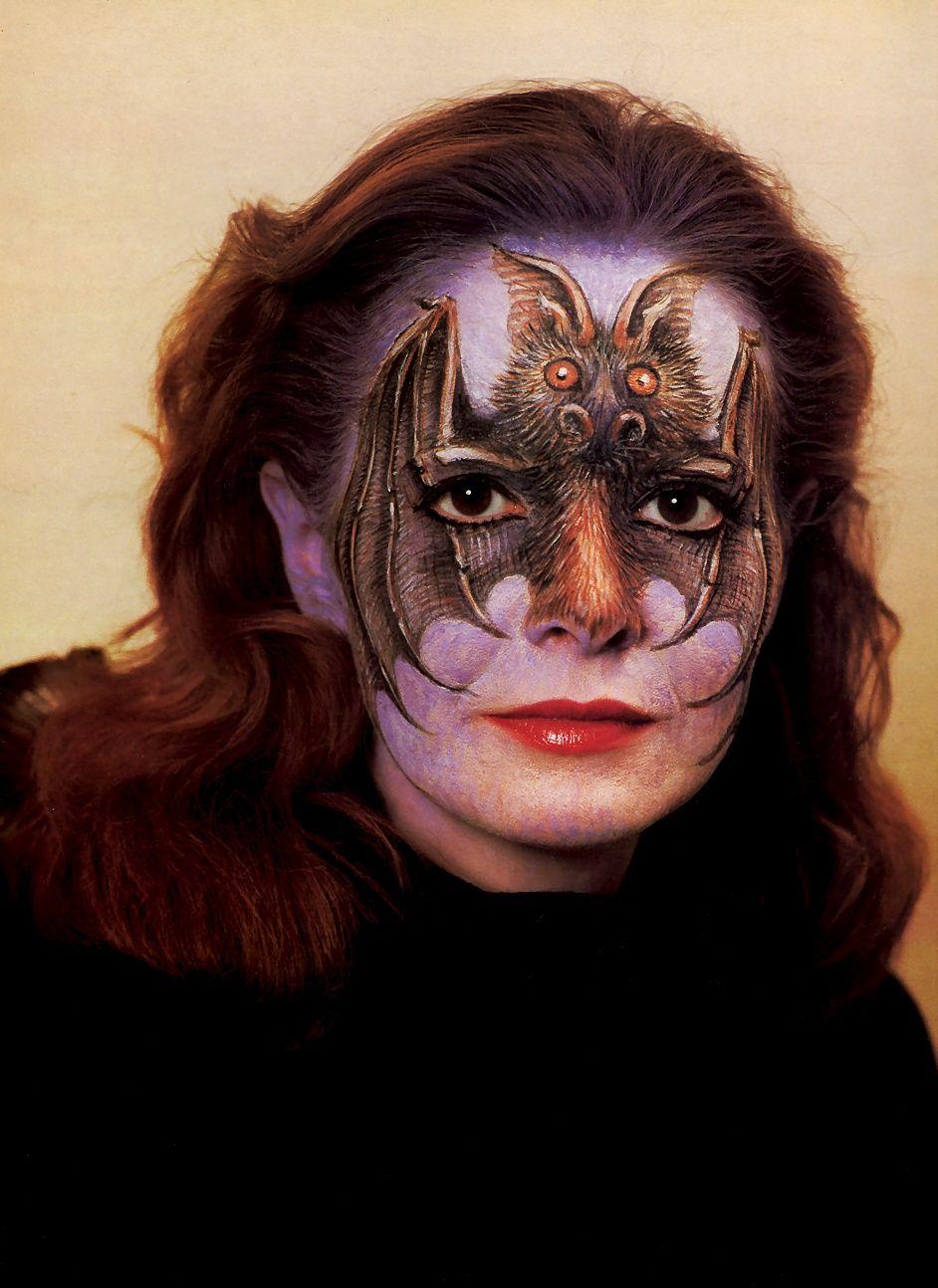 Serge Diakonoff Halloween face makeup, Halloween face