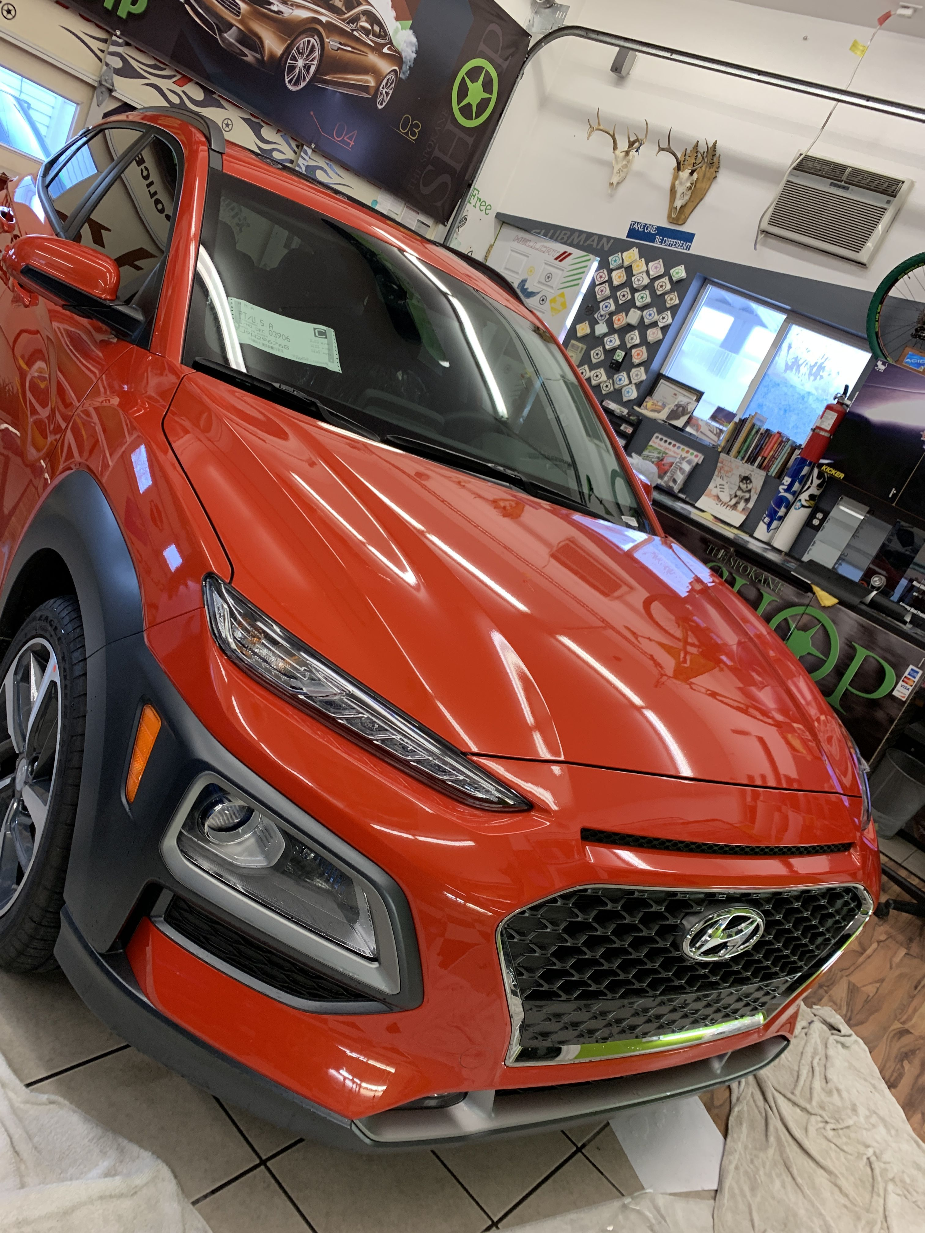 Beautiful Brand New Hyundai With Pretty Orange Paint This Calls