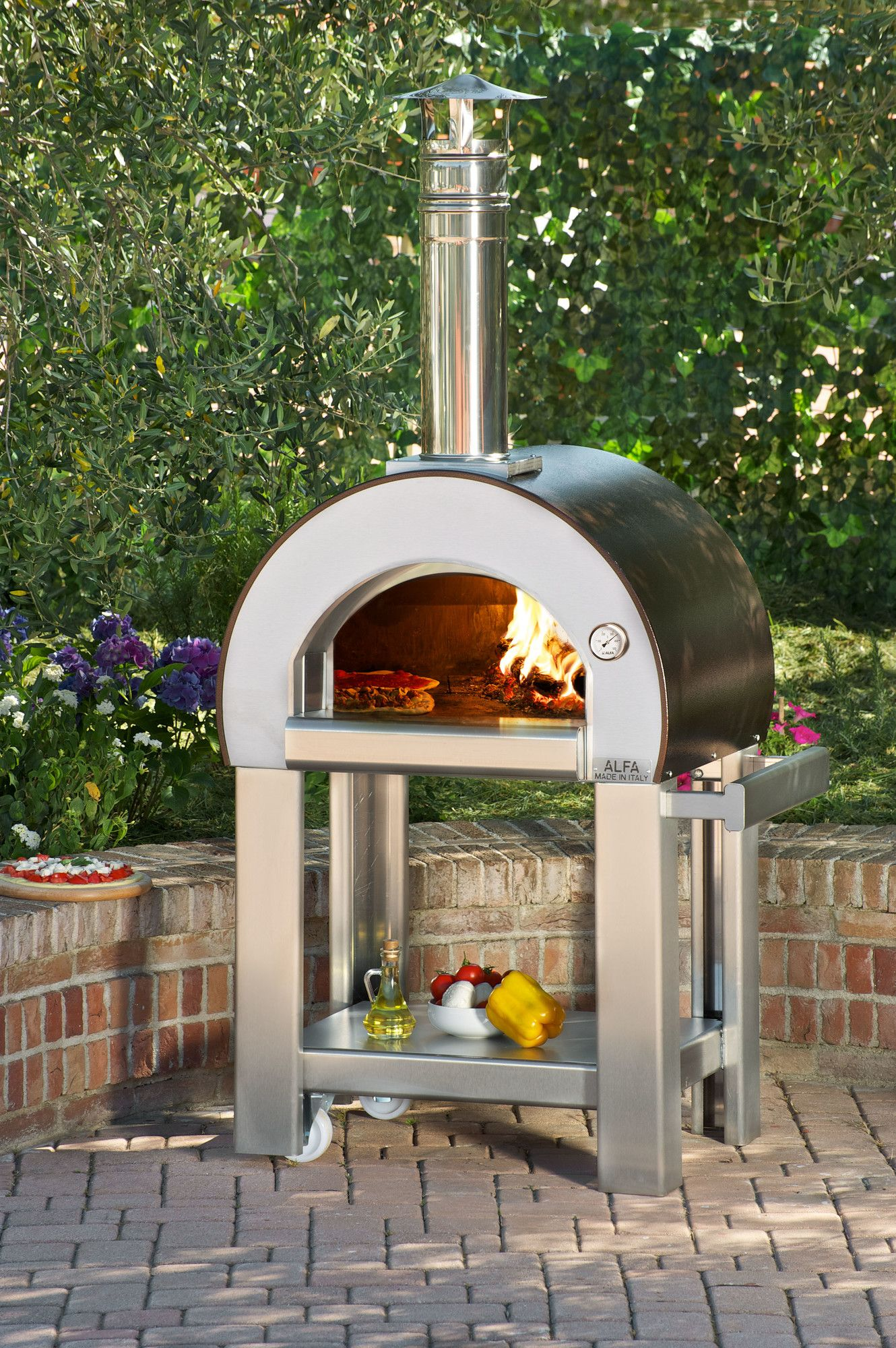 Alfa Pizza Forno 5 Wood Burning Pizza Oven & Reviews