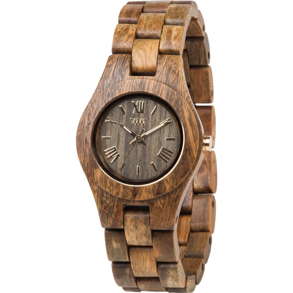 WeWood Criss Guaiaco Wood Watch   Army