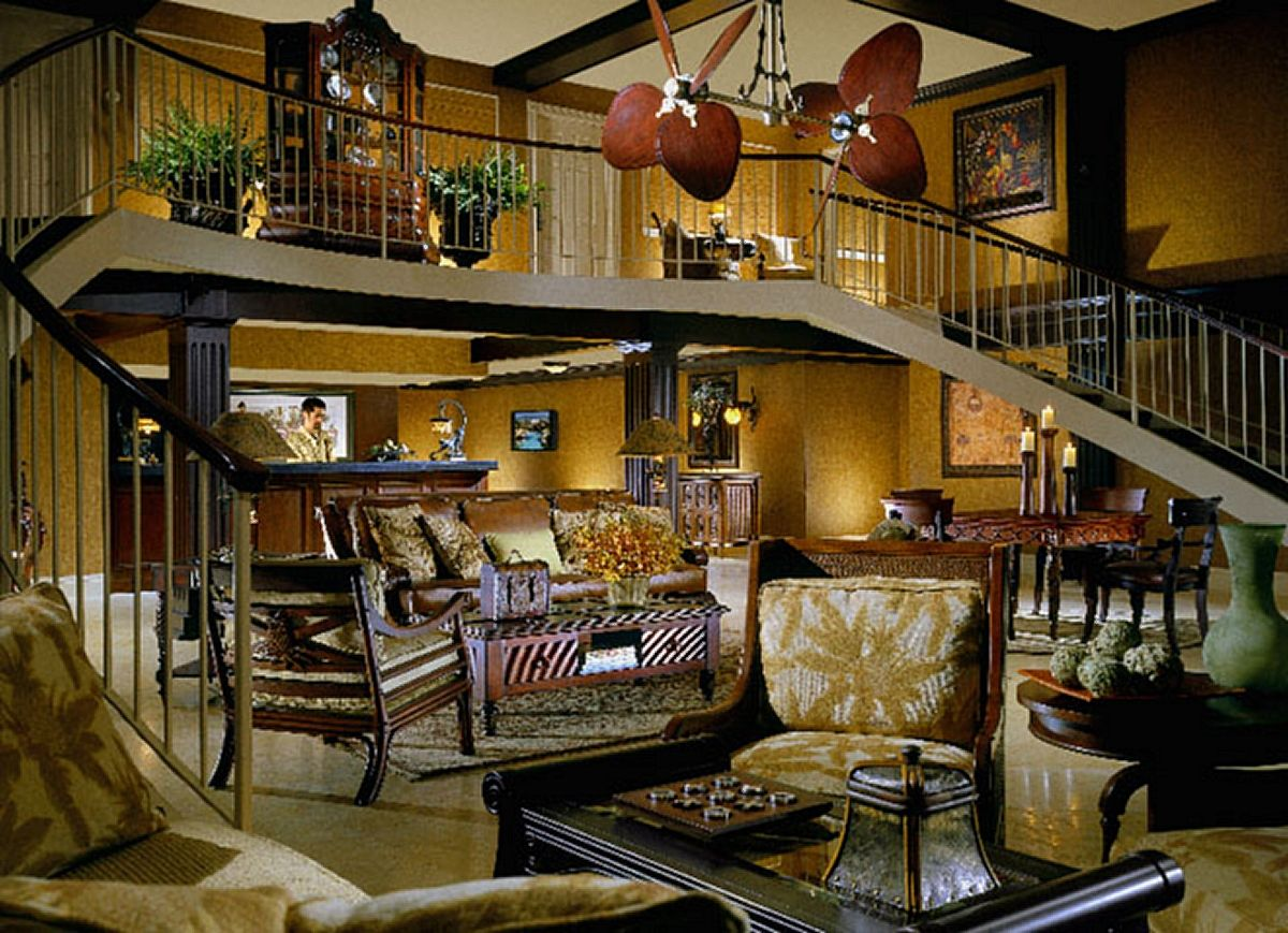hemingway style decorating   photo source the inn at key ...