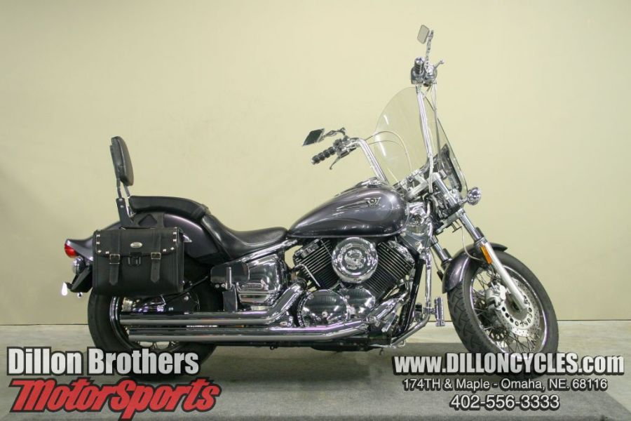 In Stock Now at Dillon Brothers MotorSports in Omaha, NE! Search our inventory online, call 402-556-3333 or hit the store at 174th and Maple to find out more! (2005-Yamaha-V-Star-1100-Custom-Stock-Num-PM0572_001.jpg)