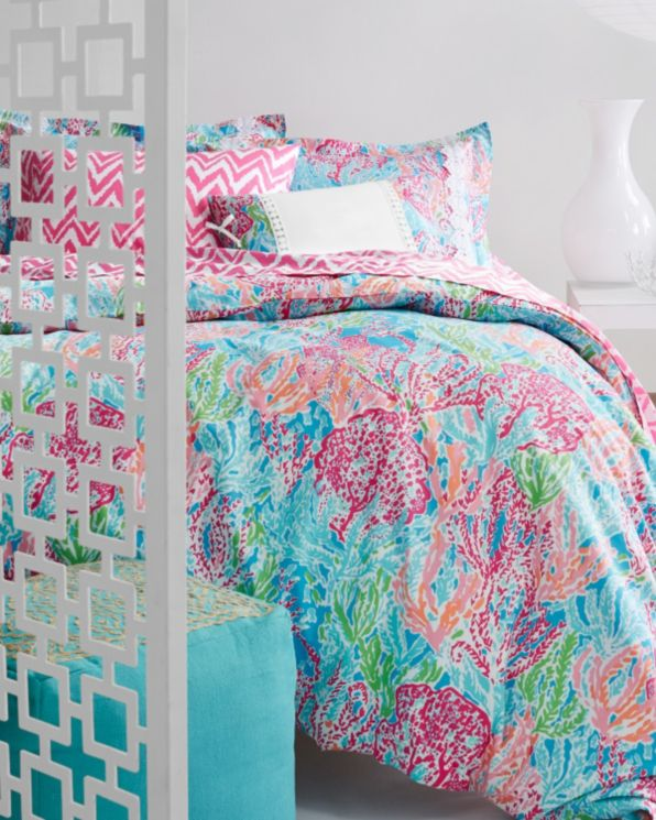 Lilly Pulitzer Perfectly Printed Percale Bedding Collection Garnet Hill