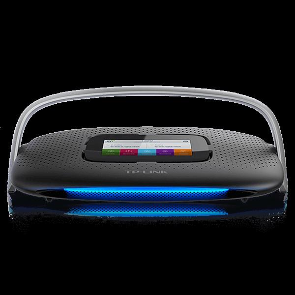der tp link sr20 router verbindet internet und smart home der tp link sr20 smart home router. Black Bedroom Furniture Sets. Home Design Ideas
