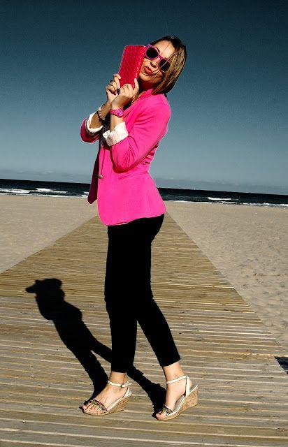 OUTFIT DEL DÍA: Inspiración blusa rosada o fucsia