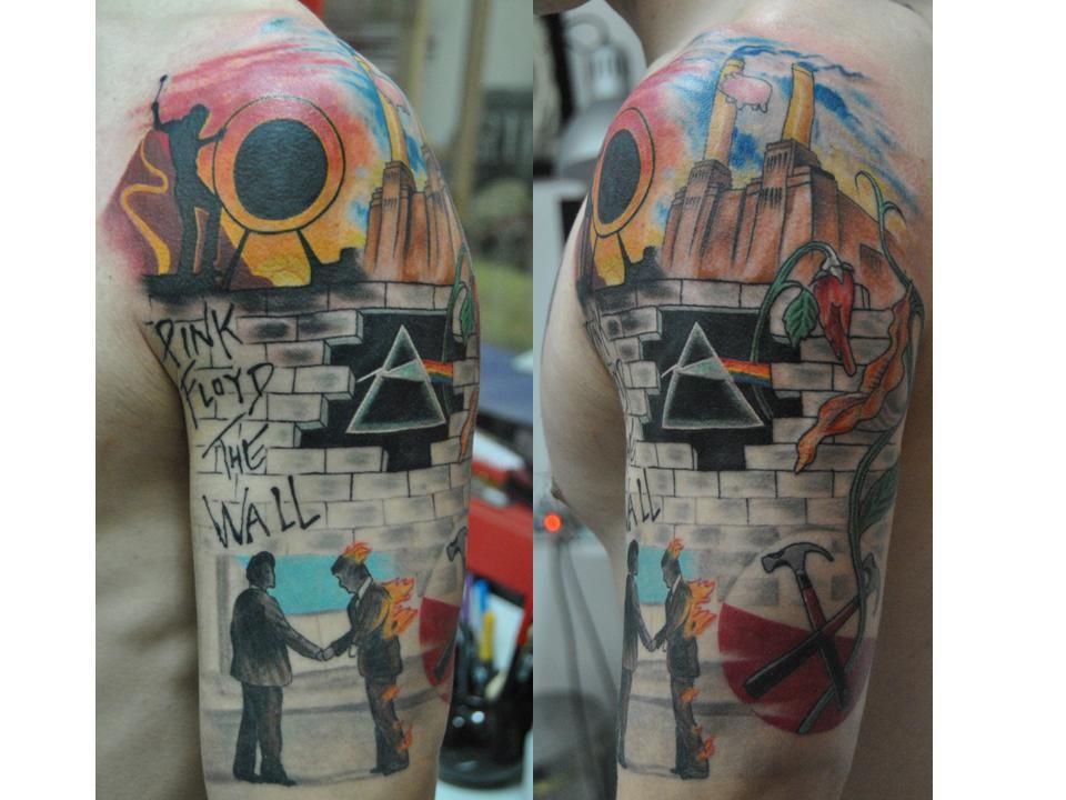 George Floyd Tattoo: Pink Floyd Sleeve Tattoos - Google Search