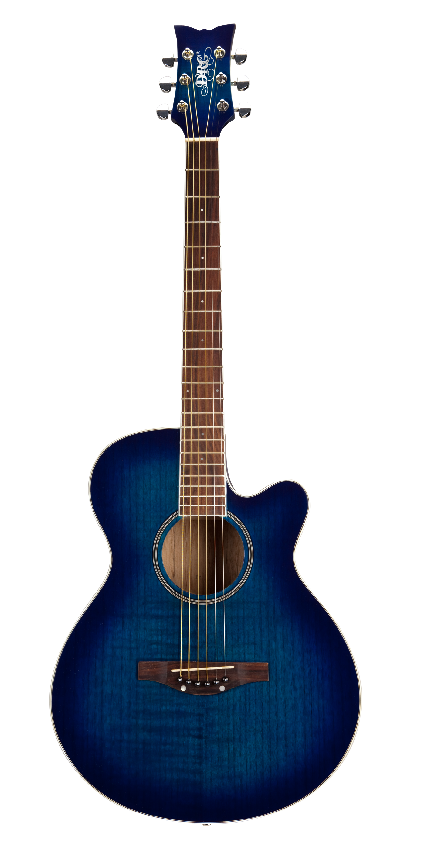 Blue Acoustic Guitar Blue Acoustic Guitar Acoustic Guitar
