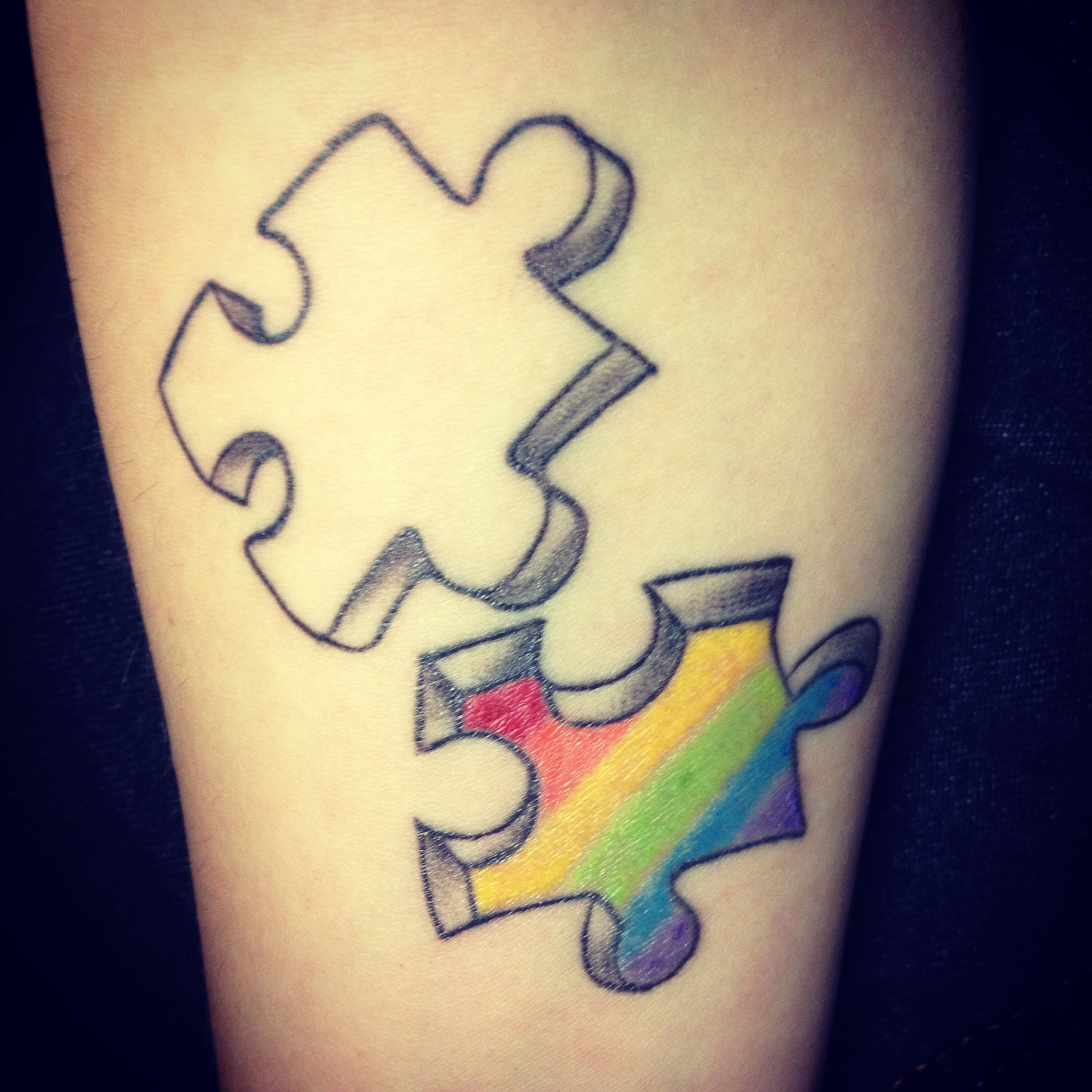gay pride tattoo picture