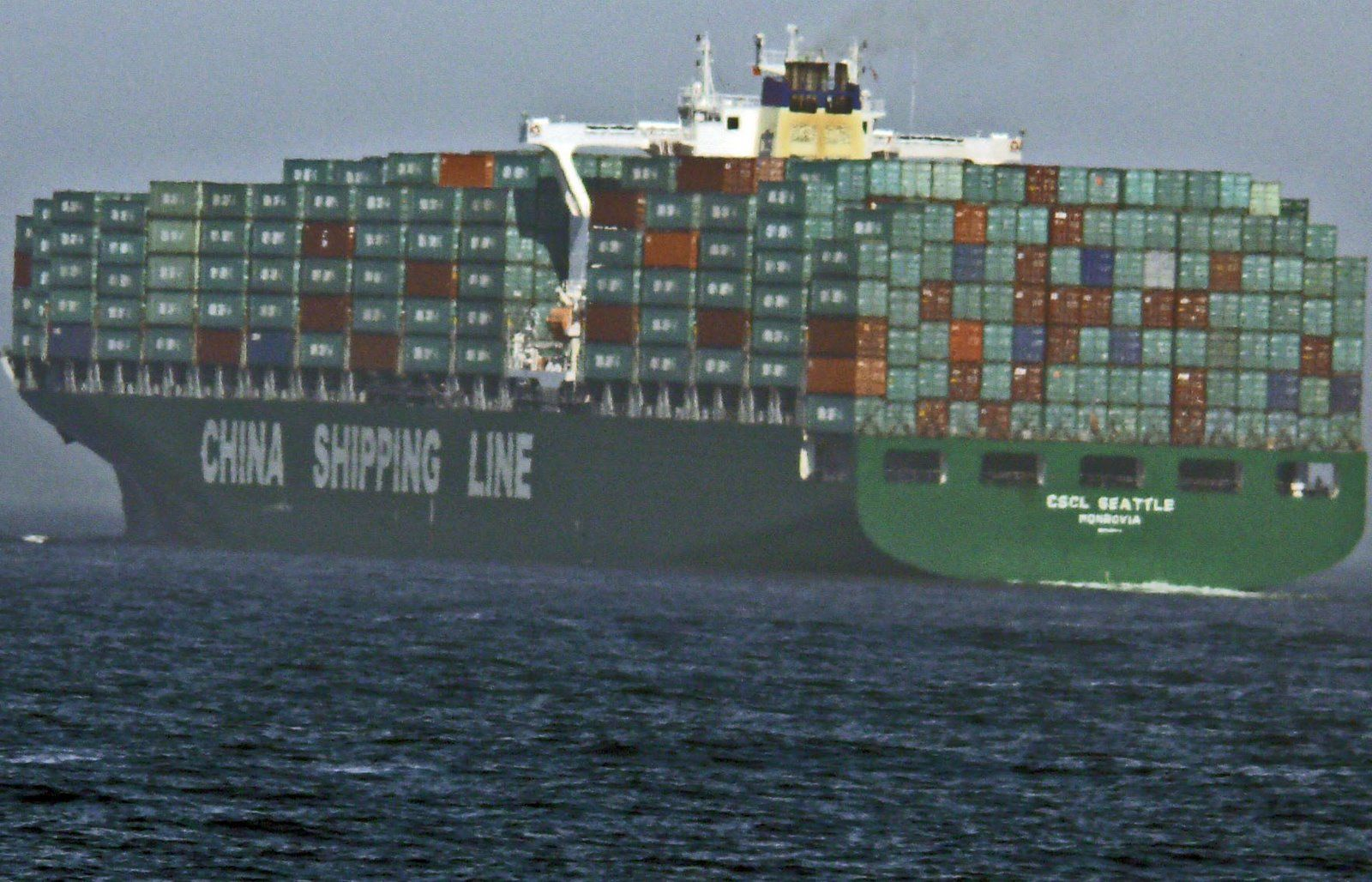 Ocean container ships many mixed feelings container for Tall shipping container