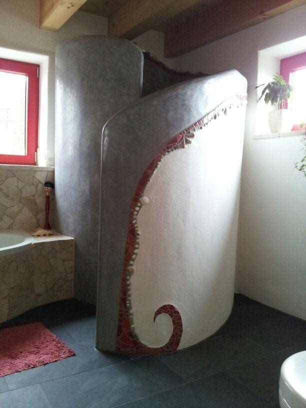 Fensterrahmen Dusche Farben | Interior Design | Badezimmer ...