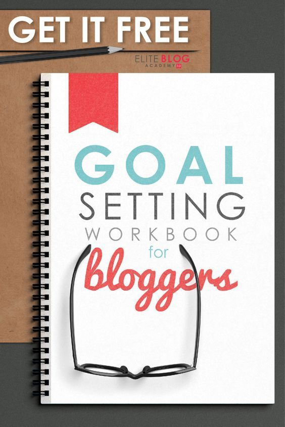 FREE Goal Setting Workbook for Bloggers! This life-changing - free action plans
