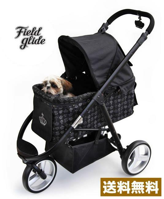 ペットパラダイス field glide王冠ロックスマートr3ペットバギー 15kg 楽天市場 ペット用カート ペット 犬