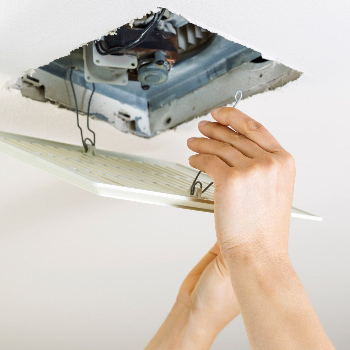 How To Clean A Bathroom Exhaust Fan In 2020 Bathroom Exhaust Fan Ceiling Fan Bathroom Bathroom Vent