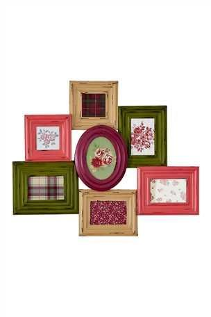 Funky picture frame collage   Random cool things   Pinterest ...