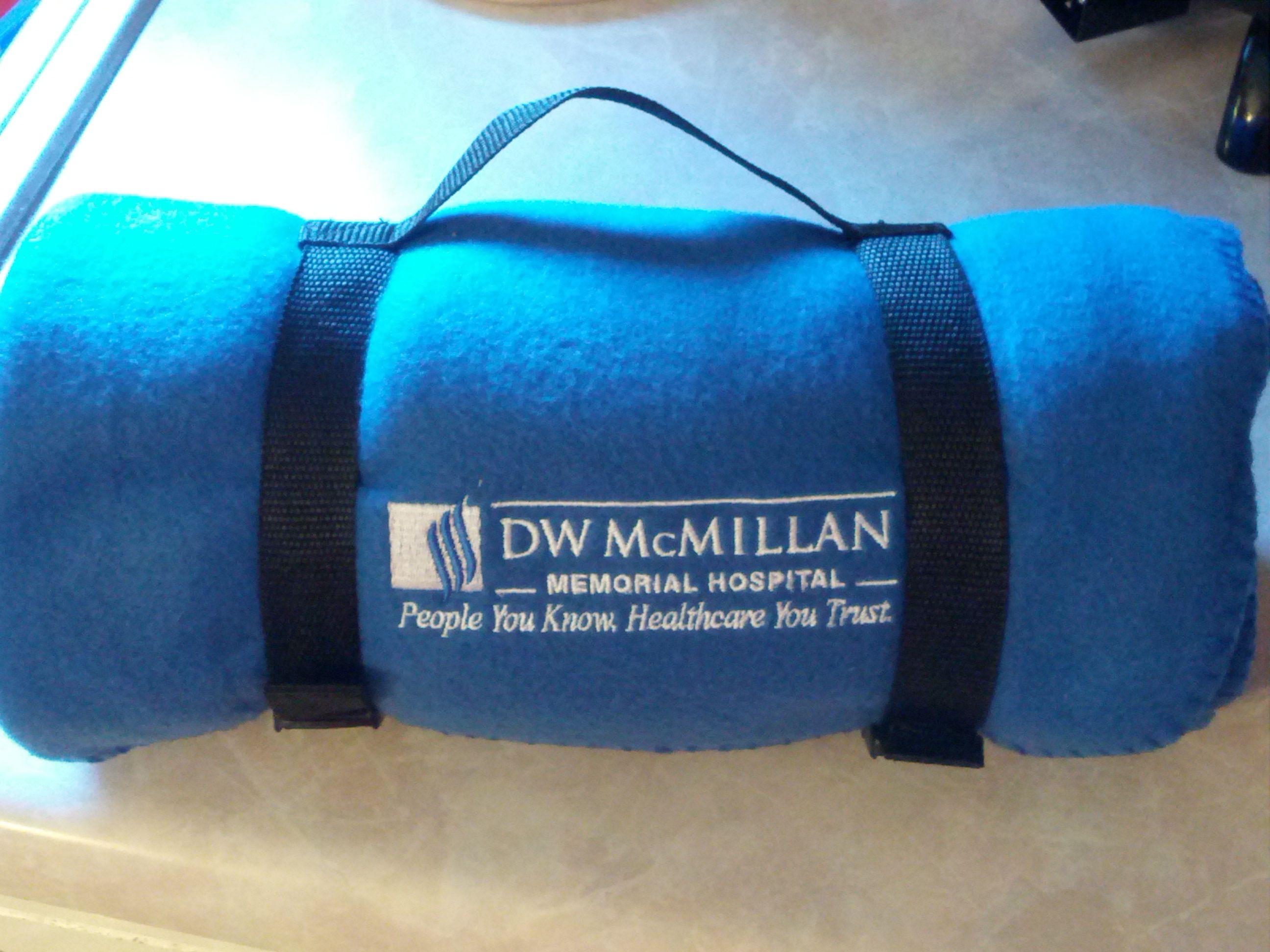 DW McMillan Hospital Week Blankets