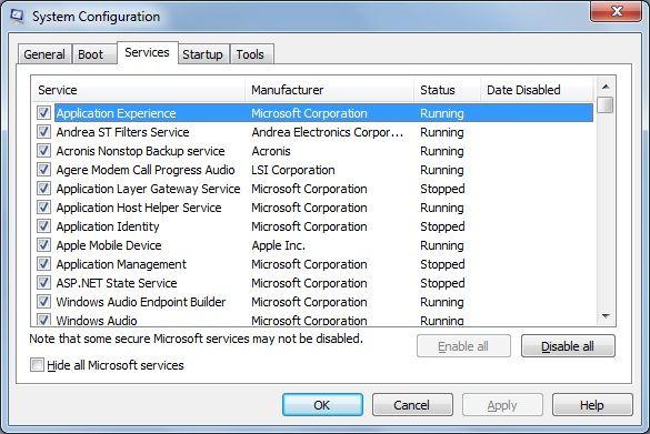 Windows 7 Shutdown Optimization Windows Microsoft Corporation