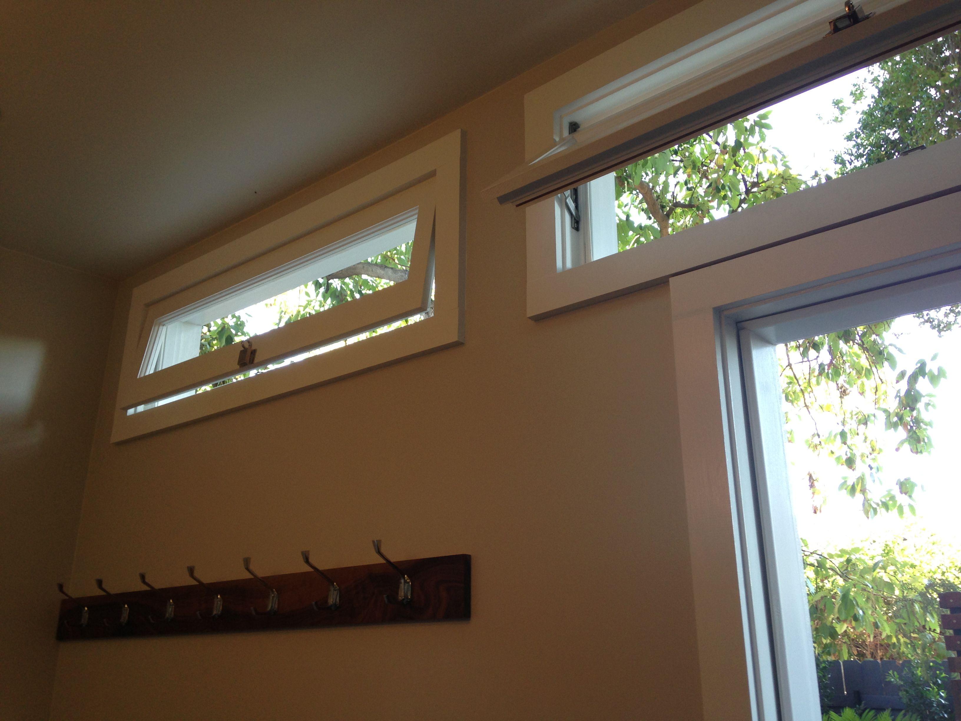 Awning windows bedroom - Pool House Bathroom Awning Windows