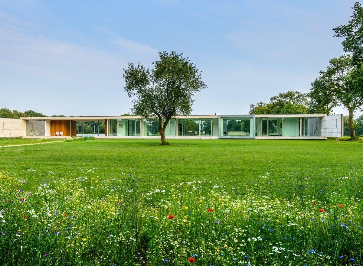 Private Villa Sterk, Bontebok, The Netherlands. By Inbo